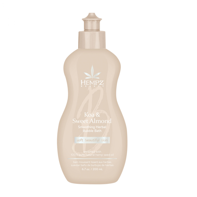 Hempz - Средства для душа: Пена для ванны смягчающая Коа и Сладкий Миндаль (Koa & Sweet Almond Smoothing Herbal Body Wash & Bubble Bath), 250мл