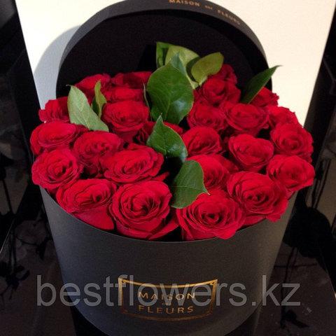 Коробка Maison Des Fleurs с розами 18