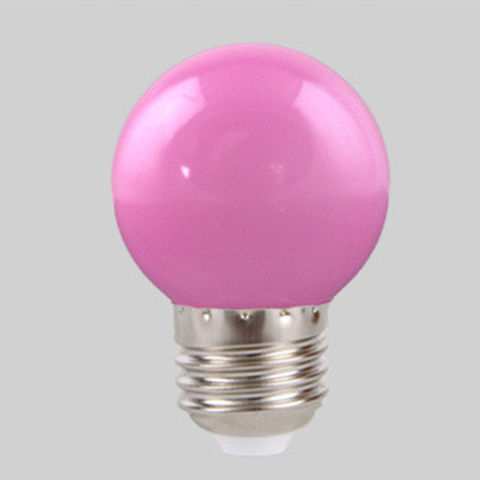 Фиолетовая лампа Е 27 для белт-лайта