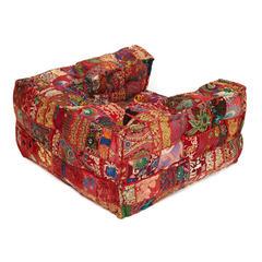 Кресло Secret De Maison GIPSY (mod. MA-111) cotton patchwork, этнический красный