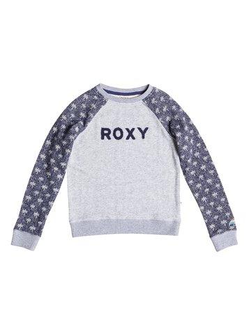 Свитшот дет Roxy WONDERFUL G OTLR BTC6 LITTLE PALM COMBO ECLIPSE