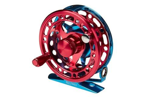Катушка инерционная Higashi H-70 Blue/Red