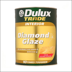 Лак для паркета Dulux DIAMOND GLAZE глянцевый (Прозрачный)