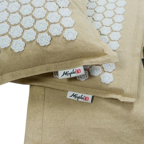 Коврик и подушка для акупунктурного массажа Miyabi.