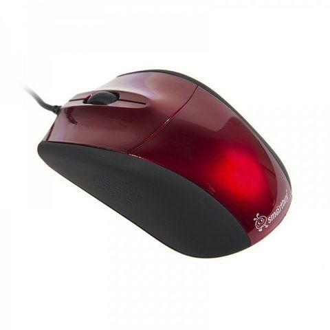 Мышь проводная SBM-325-R красный SMARTBUY