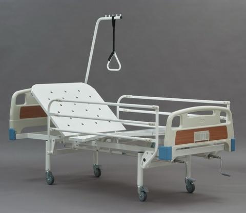 Кровать КФ3-01 (МЕТ) функциональная механическая четырехсекционная - фото