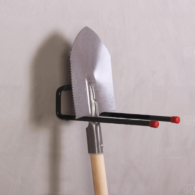 Длинный крюк для хранения лопат и грабель