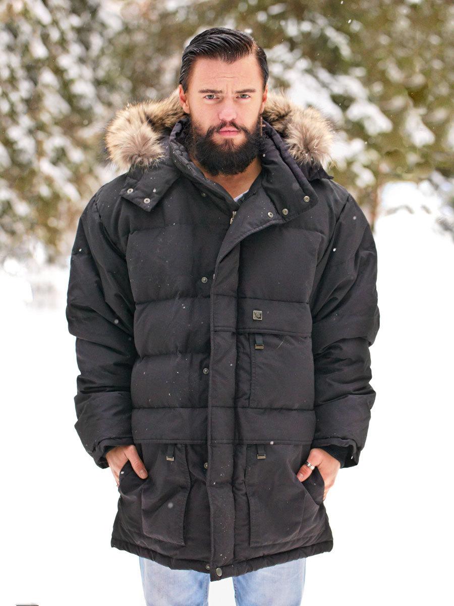 Joutsen пуховик Arctic черный