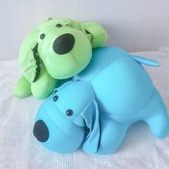 Подушка-игрушка антистресс Gekoko «Голубой Патрик» 3