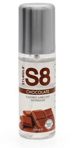 Смазка на водной основе S8 Flavored Lube со вкусом шоколада - 125 мл.