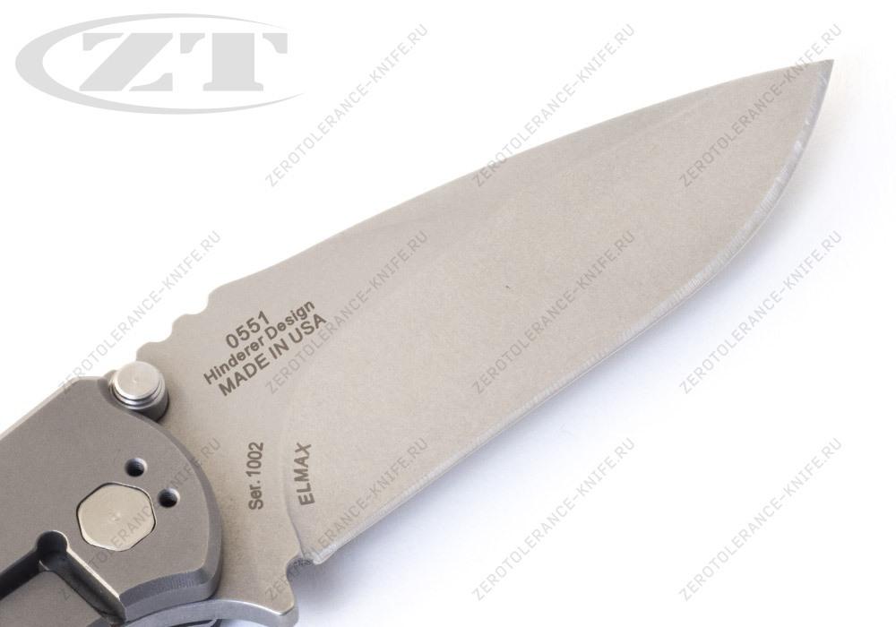 Нож Zero Tolerance 0551 HINDERER - фотография