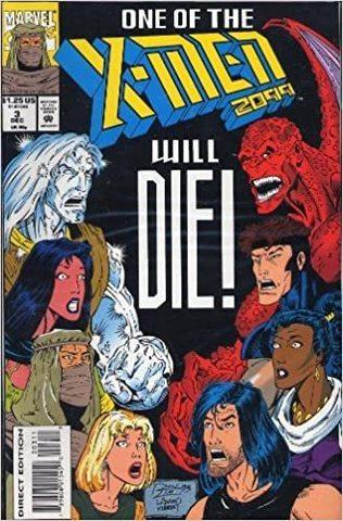 X-Men 2099 : One of Them Will Die #3 (1993)