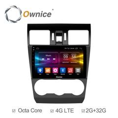 Штатная магнитола на Android 6.0 для Subaru XV 11-16 Ownice C500+ S9511P