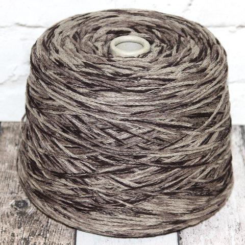 Шнурок полушерсть NEW MILL / KATY 120 коричневый секционный