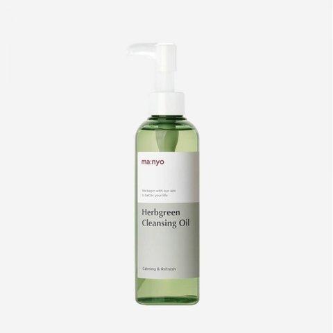 Купить Manyo Factory HERB GREEN CLEANSING OIL - Гидрофильное масло
