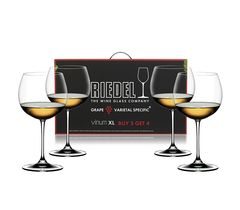 Набор из 4 бокалов для белого вина Oaked Chardonnay / Montrachet, фото 3