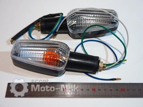 Поворотники белые Honda X 4 CB 400 VTEC 1 2 CB 750 1000 600 1300
