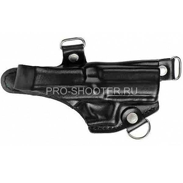 Оперативная кобура для пистолета Гроза - 04 горизонтальная ( модель № 21 )