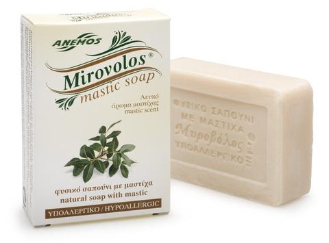 Натуральное мыло с мастикой Mirovolos от Anemos 100 гр