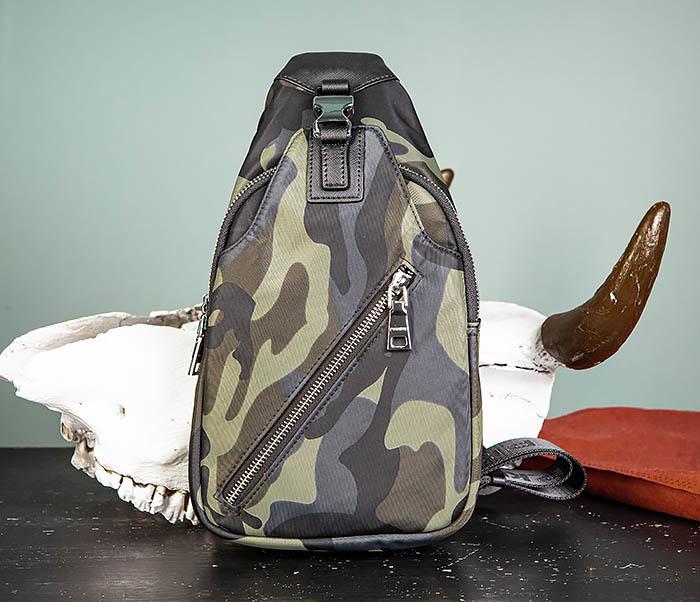 BAG488-3 Мужская сумка с одной лямкой через плечо фото 02