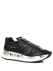 Кожаные кроссовки Premiata Conny 4736 с перфорацией