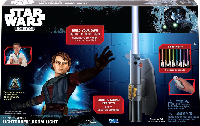 Звездные войны Световой меч-светильник 8 цветов
