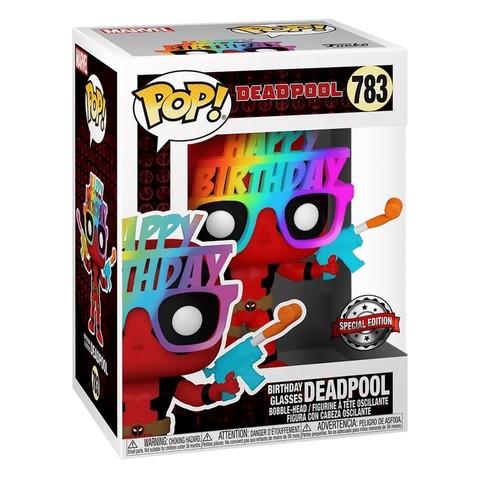 Deadpool 30th Birthday Glasses (Exc) Funko Pop! Vinyl Figure || Дэдпул в очках