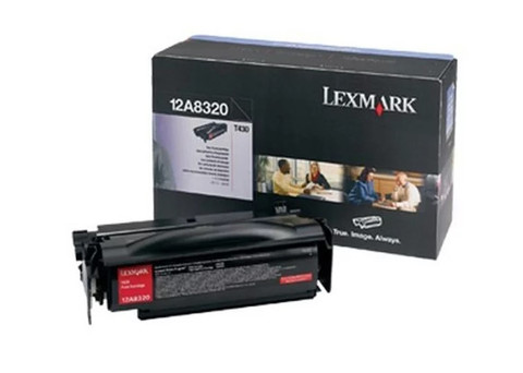 Оригинальный картридж Lexmark 12A8320 черный