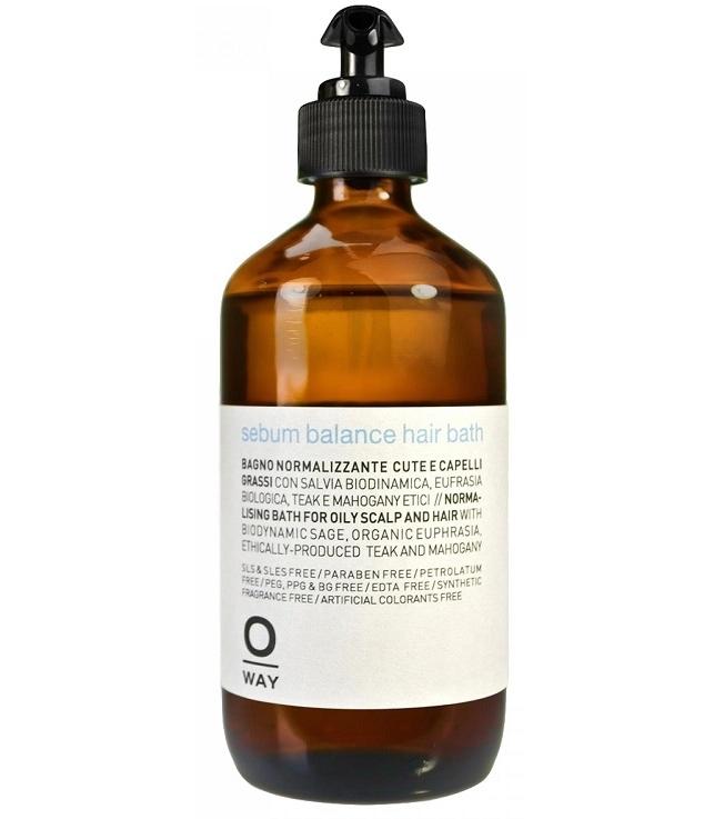 Шампунь для волос балансирующий (антисеборейный) Sebum Balance Hair Bath
