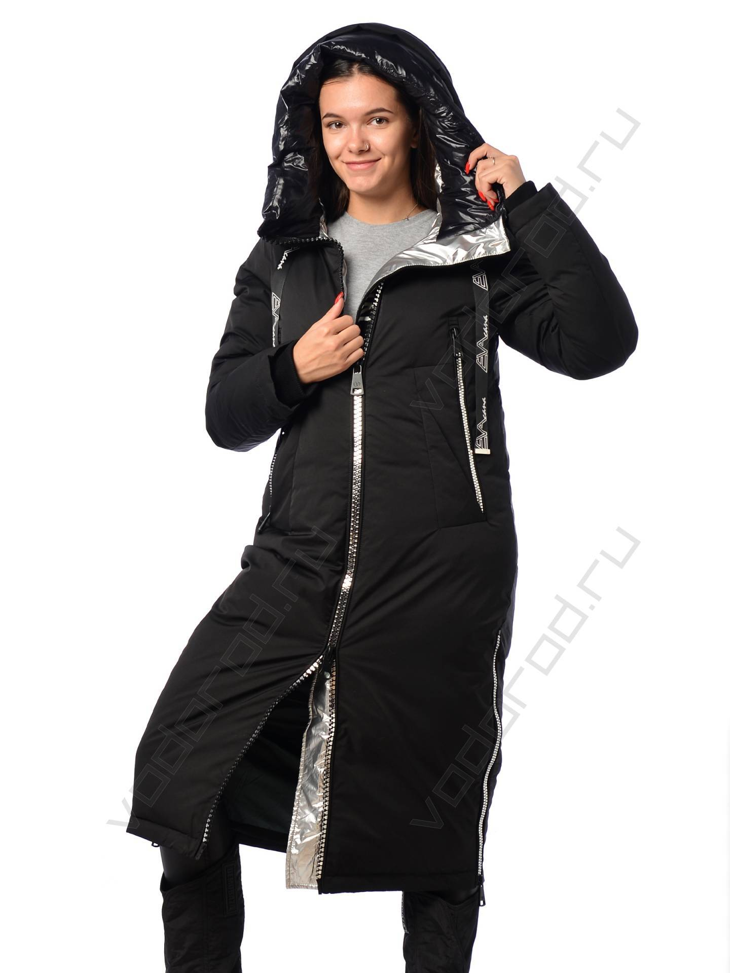 Куртка зимняя EVACANA 21708 (черная)