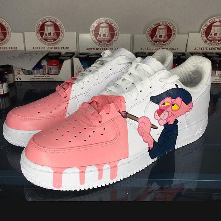 Nike Air Force 1 07 // Pink Panther