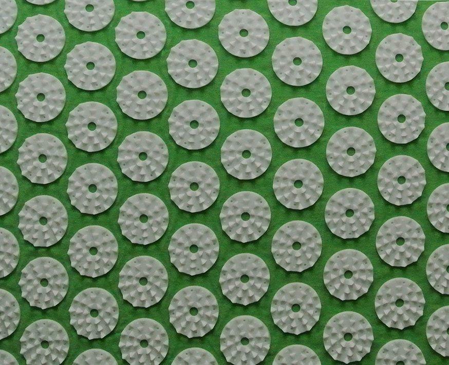Массажный коврик (аппликатор Кузнецова) + подушка (зелёный) Фото №2