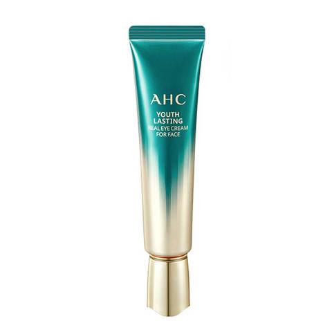 AHC Youth Lasting Real Eye Cream омолаживающий крем для век с 9 видами коллагена