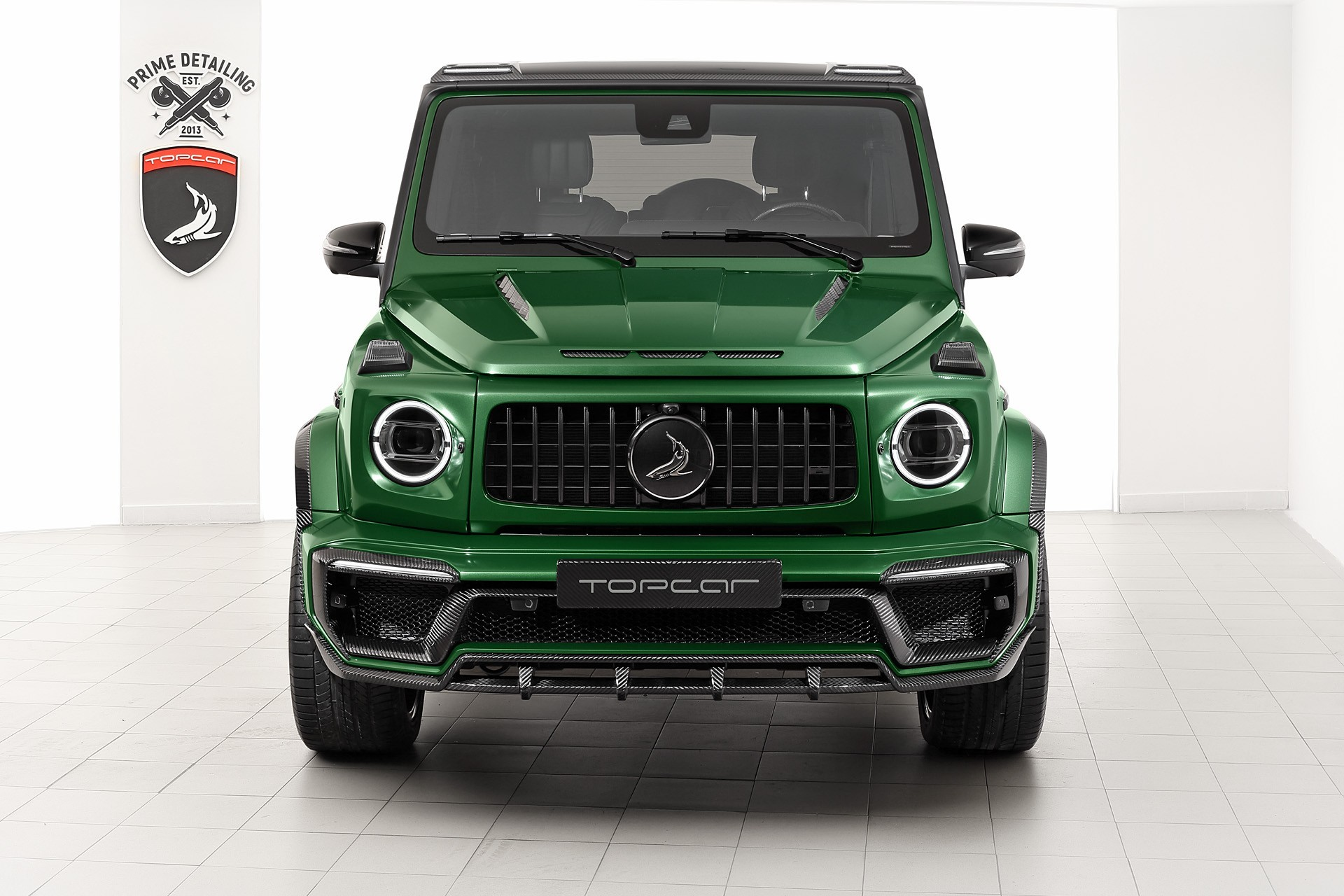 Обвес Topcar Design для Mercedes  G-class (W463) INFERNO