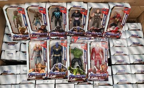 Супергерои 15 см 10 штук
