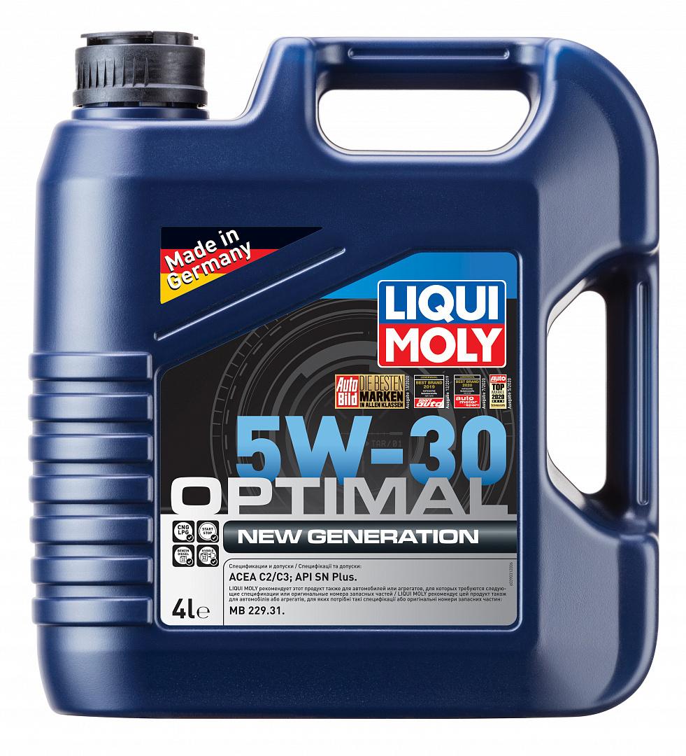 Liqui Moly Optimal New Generation 5W30 НС-синтетическое моторное масло