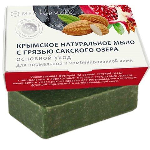 Крымское мыло для ухода за нормальной и комбинированной кожей MED formula «Основной уход»™Дом Природы