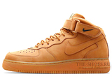 Женские Кроссовки Nike Air Force 1 MID '07 Begie