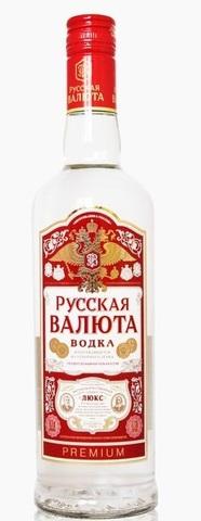 Водка Русская Валюта 38% 0,5л