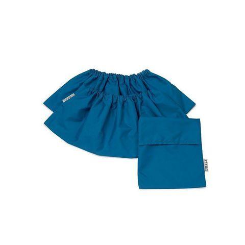 Многоразовые детские бахилы ZEERO Dewspo с мешочком, голубые