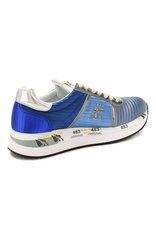 Текстильные кроссовки Premiata Conny 4508 на шнуровке