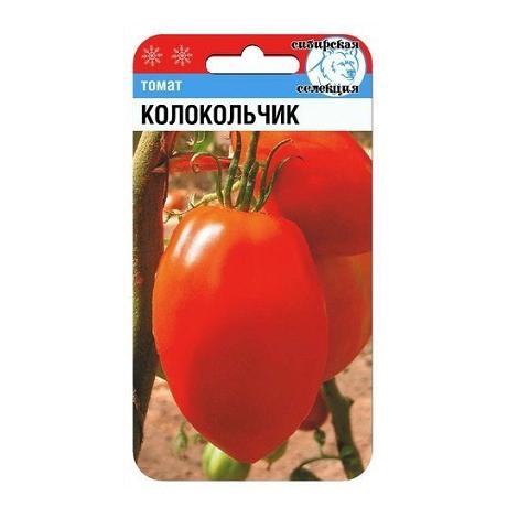 Колокольчик 20шт томат (Сиб Сад)