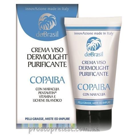 Dobrasil crema viso dermolight purificante copaiba - Крем для лица с маслом копаиба, очищающий и выравнивающий тон кожи