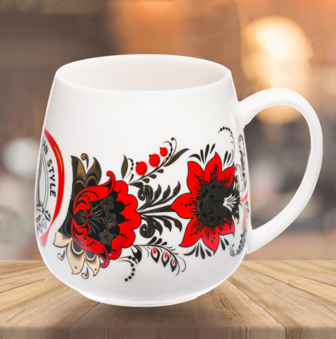 "VELIKOROSS mug ""Golden time"""