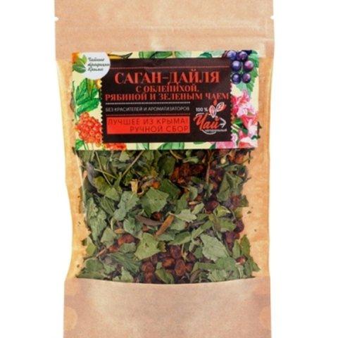 Зеленый чай «Саган-Дайля» с облепихой и рябиной ™Крымские традиции