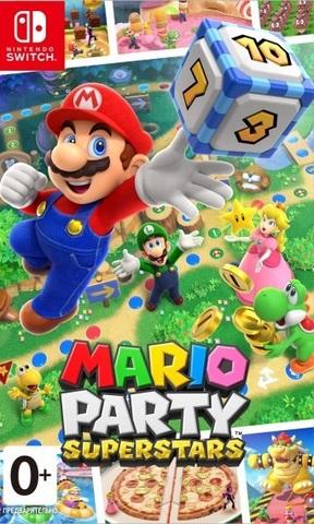 Mario Party Superstars (Nintendo Switch, русская версия)