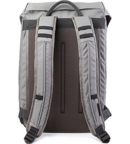Рюкзак Victorinox Altmont 3.0, Flapover Laptop Backpack 17'', серый, 32x13x48 см, 19 л
