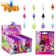 Игрушки Тролли с цветными волосами серия 02
