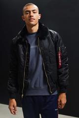 Куртка Alpha Industries B-15 Slim Fit Black (Черная)