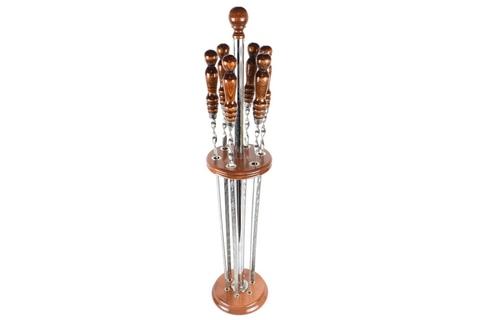 Вертикальная подставка для шампуров